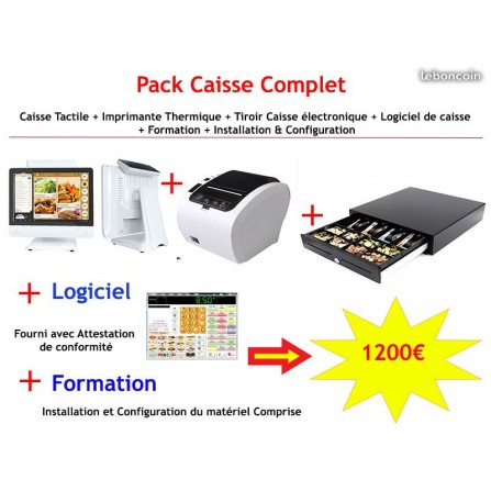 Pack Caisse Tactile Pro